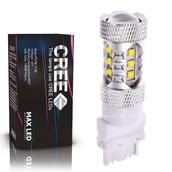 Светодиодная лампа P27W 3156 - 16 CREE Линза 80Вт
