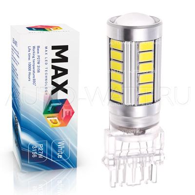 Светодиодная лампа P27W 3156 - Max-Road 33Led 13Вт Белая