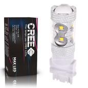 Светодиодная лампа P27W 3156 - 10 CREE Линза 50Вт