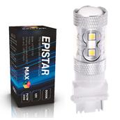Светодиодная лампа P27W 3156 - 10 Epistar Линза 50Вт Белая