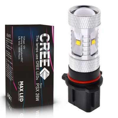 Светодиодная лампа PSX26W - 6 CREE Линза 30Вт