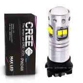 Светодиодная лампа PW24W - 10 CREE Линза 50Вт