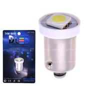 Светодиодная лампа T4W BA9S - 1 SMD5050 0.24Вт Белая
