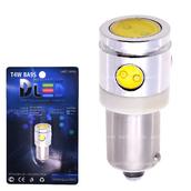 Светодиодная лампа T4W BA9S - High-Power 1Led+3 mini 2,5Вт 12v Белая