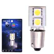 Светодиодная лампа T4W BA9S - 2 SMD5050 0.48Вт Белая