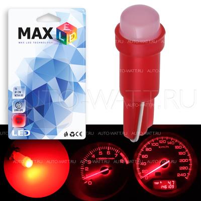 Светодиодная лампа T5 – 1 COB 360 1Вт Красная