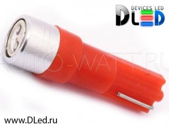 Светодиодная лампа T5 – 1 HP 0.5Вт Красная
