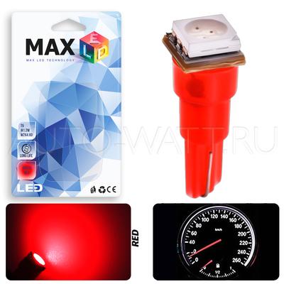 Светодиодная лампа T5 – 1 SMD5050 0.24Вт Красная