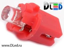 Светодиодная лампа T5 – B8.3D 1 Dip 0.2Вт Красная