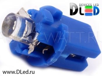 Светодиодная лампа T5 – B8.3D 1 Dip 0.2Вт Синяя