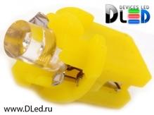 Светодиодная лампа T5 – B8.3D 1 Dip 0.2Вт Жёлтая