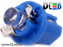 Светодиодная лампа T5 – B8.5D 1 Dip 0.2Вт Синяя