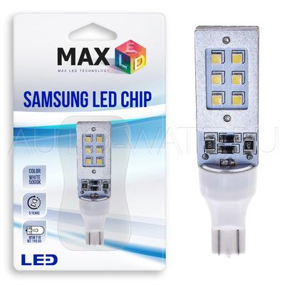 Светодиодная лампа W16W T15 – Max-Samsung Chip 12Вт