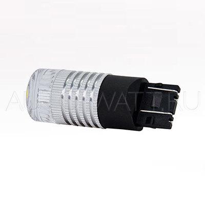 Светодиодная лампа W21/5W 7443 - MTF 360° 2.1W Красная