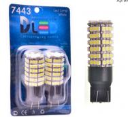 Светодиодная лампа W21/5W 7443 - 120 SMD3528 8.4Вт Белый-Жёлтый