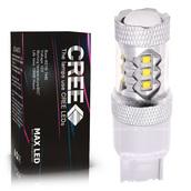 Светодиодная лампа W21W 7440 - 16 CREE Линза 80Вт