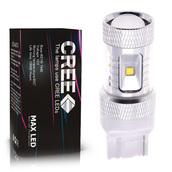 Светодиодная лампа W21W 7440 - 6 CREE Линза 30Вт
