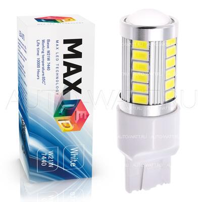 Светодиодная лампа W21W 7440 - Max-Road 33Led 13Вт Белая