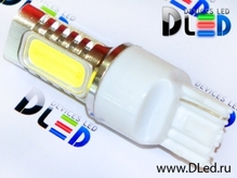 Светодиодная лампа W21W 7440 - 4 High-Power 6Вт Белая