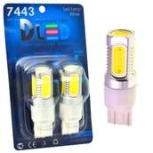 Светодиодная лампа P27W 3156 - 5 High-Power 7.5Вт Белая
