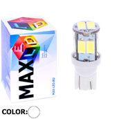 Светодиодная лампа W5W T10 – Max-Road 10Led 2Вт Белая