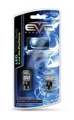 Светодиодная лампа W5W T10 – 2DIP EVO FORMANCE Синяя