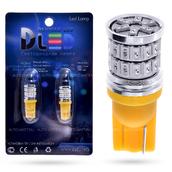 Светодиодная лампа WY5W T10 – 36 SMD3014 9Вт Оранжевая