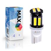 Светодиодная лампа W5W T10 – Max-7014 3Вт Белая