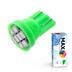 Светодиодная лампа W5W T10 – Max-Lendigo 8Led 0.8Вт Зелёная
