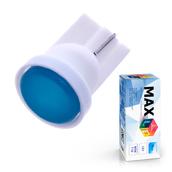 Светодиодная лампа W5W T10 – 1 Max-COB 1Вт Синяя