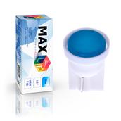 Светодиодная лампа W5W T10 – Max-COB 1Вт Синяя