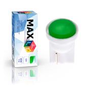 Светодиодная лампа W5W T10 – 1 Max-COB 1Вт Зелёная