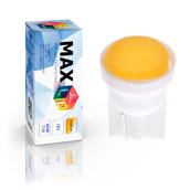 Светодиодная лампа W5W T10 – 1 Max-COB 1Вт Жёлтая