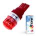 Светодиодная лампа W5W T10 – Max-Cristal 2Вт Красная