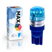 Светодиодная лампа W5W T10 – 1 Max-Cristal 2Вт Синяя
