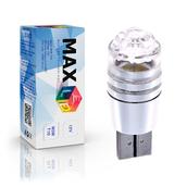 Светодиодная лампа W5W T10 – Max-Cristal 3Вт Белая