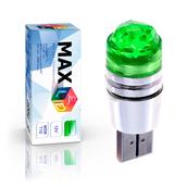 Светодиодная лампа W5W T10 – 1 Max-Cristal 3Вт Зелёная