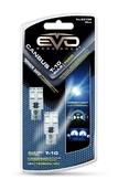 Светодиодная лампа W5W T10 –2 EVO FORMANCE CАNBUS Синяя