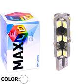 Светодиодная лампа W5W T10 – Max-Hill 24Led 4Вт Белая