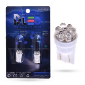 Светодиодная лампа W5W T10 – 4 Dip Led 0.2Вт Белая