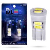 Светодиодная лампа W5W T10 – 6 Max-Ceramic 3Вт Белая