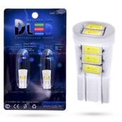 Светодиодная лампа W5W T10 – 8 Max-Ceramic 4Вт Белая