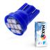 Светодиодная лампа W5W T10 – Max-Lendigo 8Led 0.8Вт Синяя
