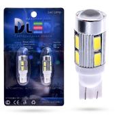 Светодиодная лампа W5W T10 – 8 SMD5630 Cree 4.6Вт Белая