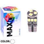 Светодиодная лампа W5W T10 – Max-Hill 9Led 3Вт Белая