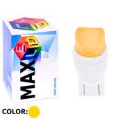 Светодиодная лампа W5W T10 – Max-Ceramic A 2Led 3Вт Жёлтая