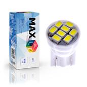 Светодиодная лампа W5W T10 – Max-Lendigo 8Led 0.8Вт Белая