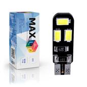 Светодиодная лампа W5W T10 – Max-Road B 6Led 3Вт Белая