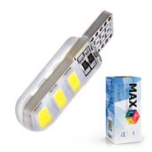 Светодиодная лампа W5W T10 – Max-Road Silica 6Led 2Вт Белая