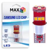 Светодиодная лампа W5W T10 – Max-Samsung Chip 9Led 9Вт Белая